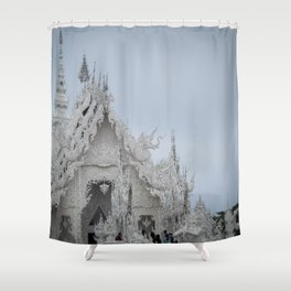 The White Temple - Thailand - 001 Shower Curtain