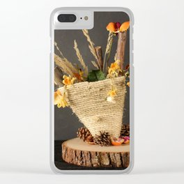 From Trash to Art Clear iPhone Case