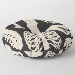 Osteology Floor Pillow