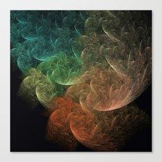 Abstract Art Space Bird Canvas Print