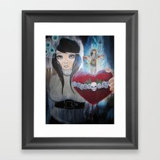 Water to the Flame Framed Art Print