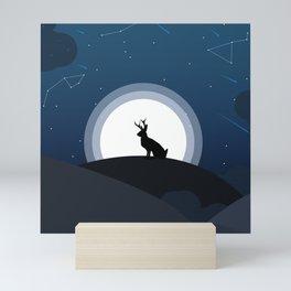 In the moonlight Mini Art Print