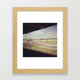 Hockenheimring Framed Art Print