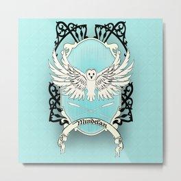 Mindelan Crest Metal Print