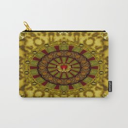 Heavy Metal With A Heart of A Lion In Valentine Time Carry-All Pouch