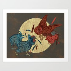 Ruler of The Roost Art Print