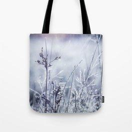 Frosty Fields Tote Bag