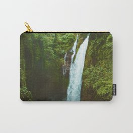 The Valley's Waterfall (Color) Carry-All Pouch