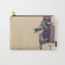 Arabesque Dragon Carry-All Pouch