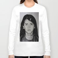 blanket Long Sleeve T-shirts featuring Blanket Jackson by Brooke Shane