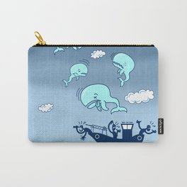 Where Have the Whales Gone? Carry-All Pouch
