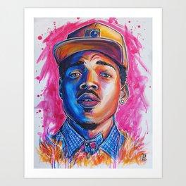 Take a Chance Art Print