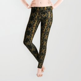 K-108 Abstract Lighting Abstract Leggings