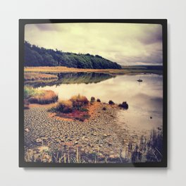 Autumn on the Creek Metal Print
