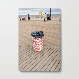 What's in a Name? Metal Print