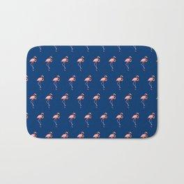 Midnight Flamingo Bath Mat