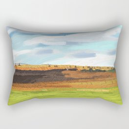 Farming Plain Rectangular Pillow