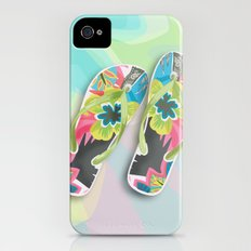 Flip flops Slim Case iPhone (4, 4s)