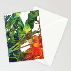 Bananas leaves Stationery Cards
