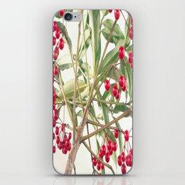 Christmas Berry iPhone Skin