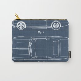 Camaro blueprint Carry-All Pouch