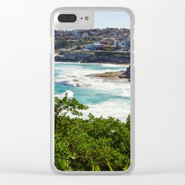Sydney Coastline Clear iPhone Case