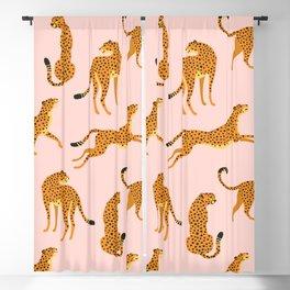Leopard pattern Blackout Curtain