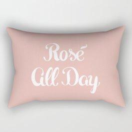 Rosé All Day Rectangular Pillow