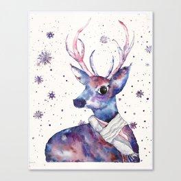 UriKuri Watercolour Deer Canvas Print