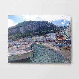 Island of Capri, Italy Metal Print