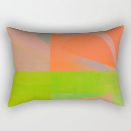 ahead of myself Rectangular Pillow