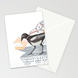 Magpie Mail Carrier Stationery Cards