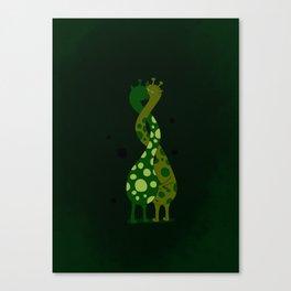 Twist of love Canvas Print