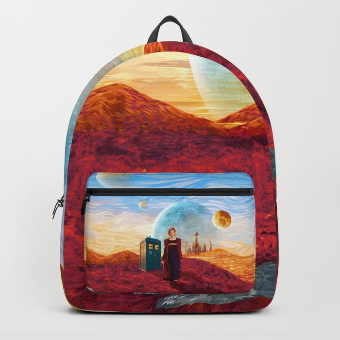 13th Doctor at Gallifrey Planet Backpack