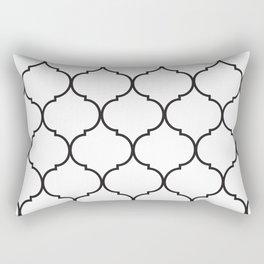Art Deco Print Rectangular Pillow