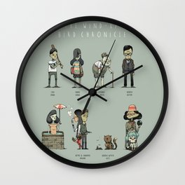 The Wind-up Bird Chronicle Wall Clock