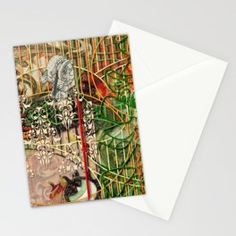 The Interlocking Mechanism of Compartmentalization Stationery Cards