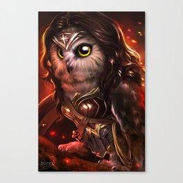 wonder owl Canvas Print