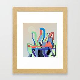 Maskine 2 Framed Art Print