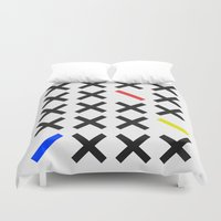 minimalism Duvet Covers featuring Minimalism 3 by Mareike Böhmer