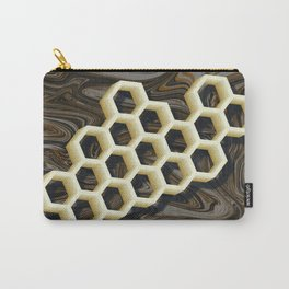 Honeycombs Carry-All Pouch