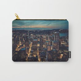 Skyscrapes-City View Carry-All Pouch