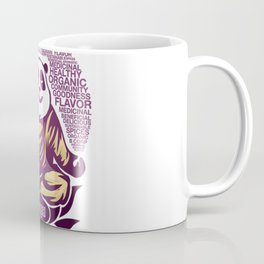 Live Love Yoga Panda Bear Coffee Mug