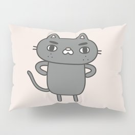 Cranky Cat Pillow Sham