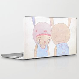 DEEP IN THE NIGHT DEEP IN THE MIST Laptop & iPad Skin