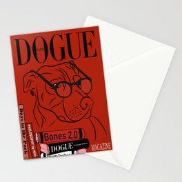 Dogue MAGAZINE - Book Smart Edt Red Stationery Cards