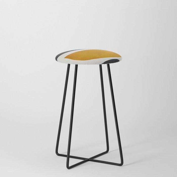 abstract minimal 23 Counter Stool