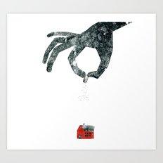 Personal Dictionary: rain Art Print