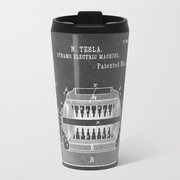 Dynamo Electric Machine - Patent #259,748 - N. Tesla - 1887 Travel Mug