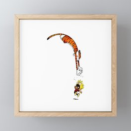 Calvin And Hobbes Framed Mini Art Print